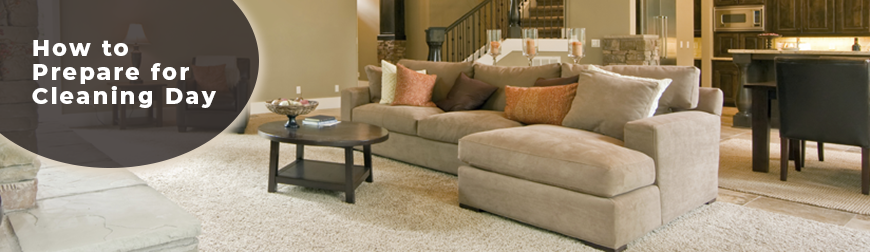 Prepare Your Home for Carpet Cleaner