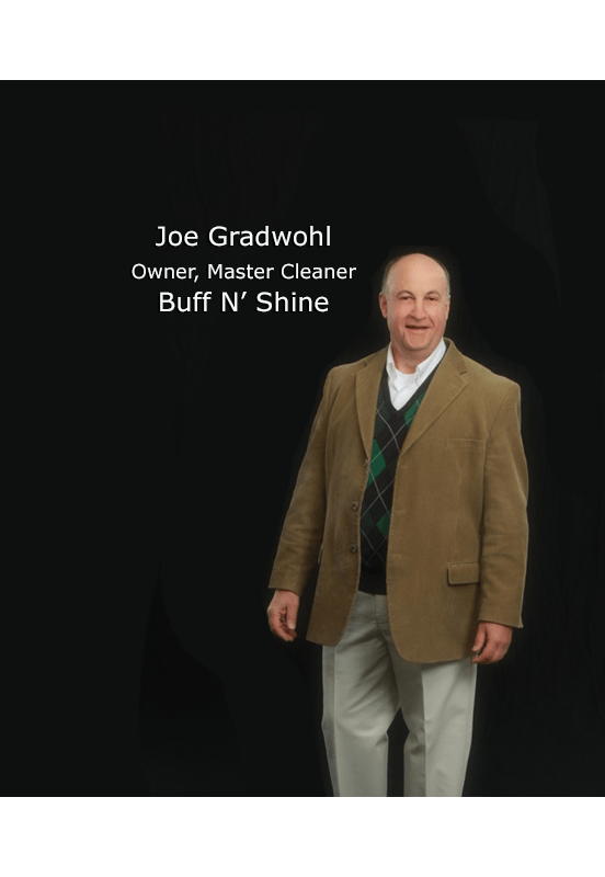 joe gradwohl owner and master cleaner