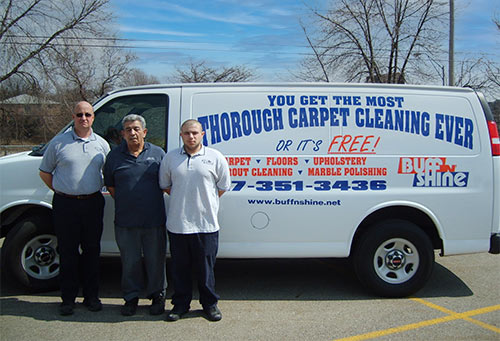 Our team of Carpet Cleaners in Dimondale, MI