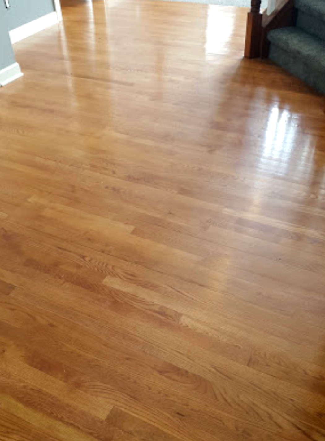 Hardwood Floor Shine!